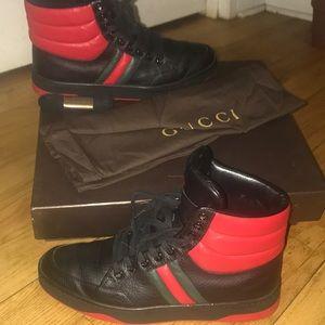 Women's Gucci Hi-Top Sneakers size 9